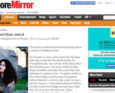 Anita's-Attic-Bangalore-Mirror-Coverage