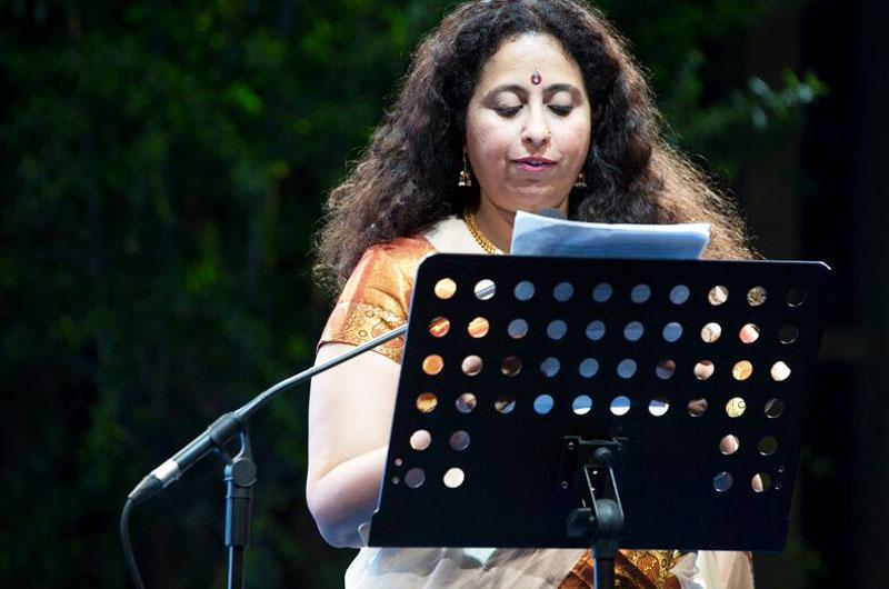 Anita Nair-Novel of the World marathon-2015